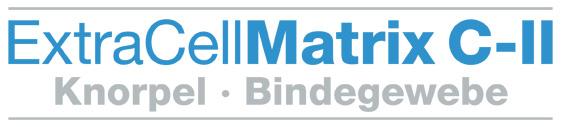 Logo ExtraCellMatrix C-II Knorpel Bindegewebe