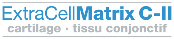 Logo ExtraCellMatrix C-II cartilage tissu conjonctif