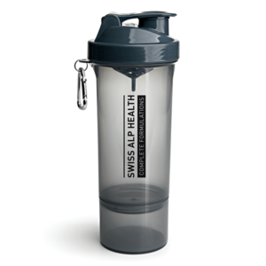 Swiss Alp Health quality shaker drak grey