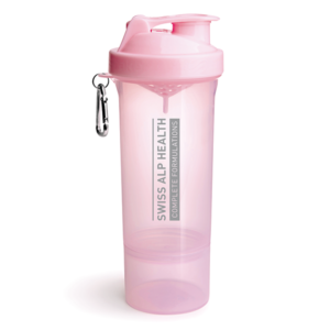 Swiss Alp Health light pink quality shaker