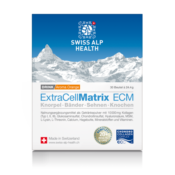 ExtraCellMatrix ECM Drink Orange Pack Dt