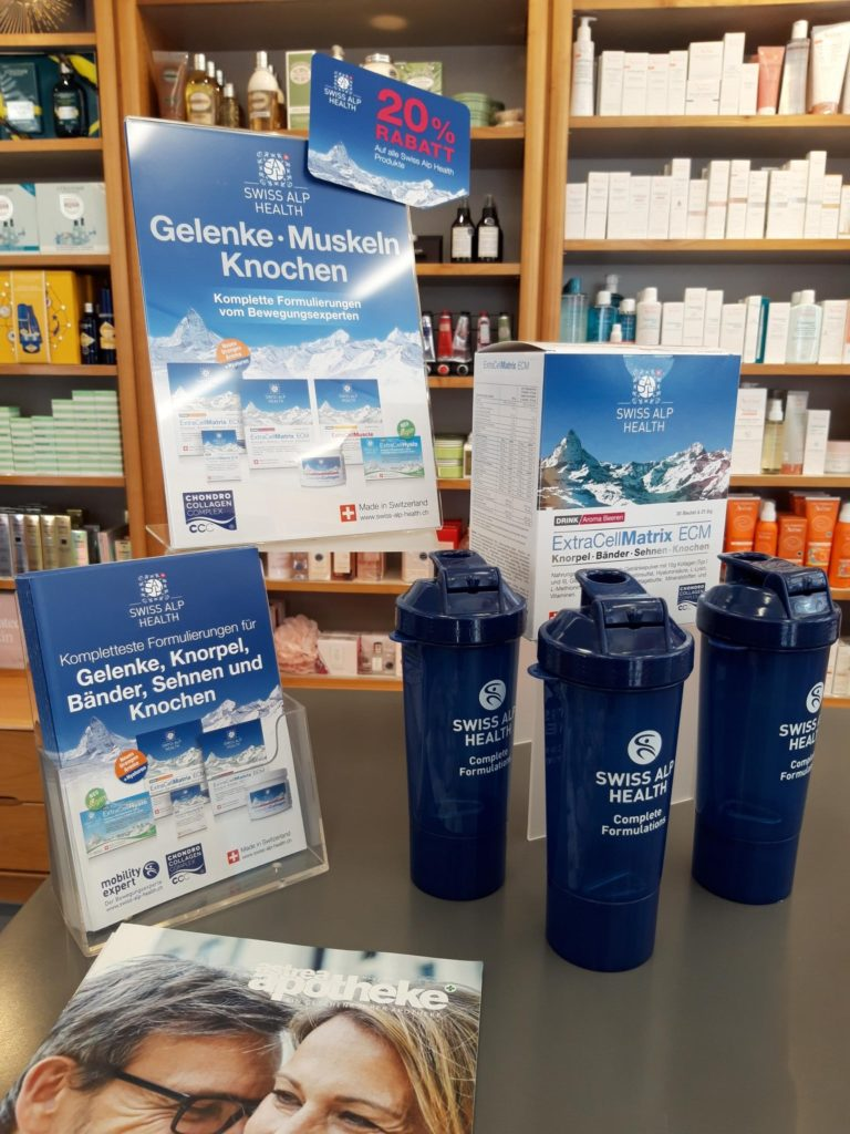 Pharmacy Horgen TopPharm Erzberg Display 2019
