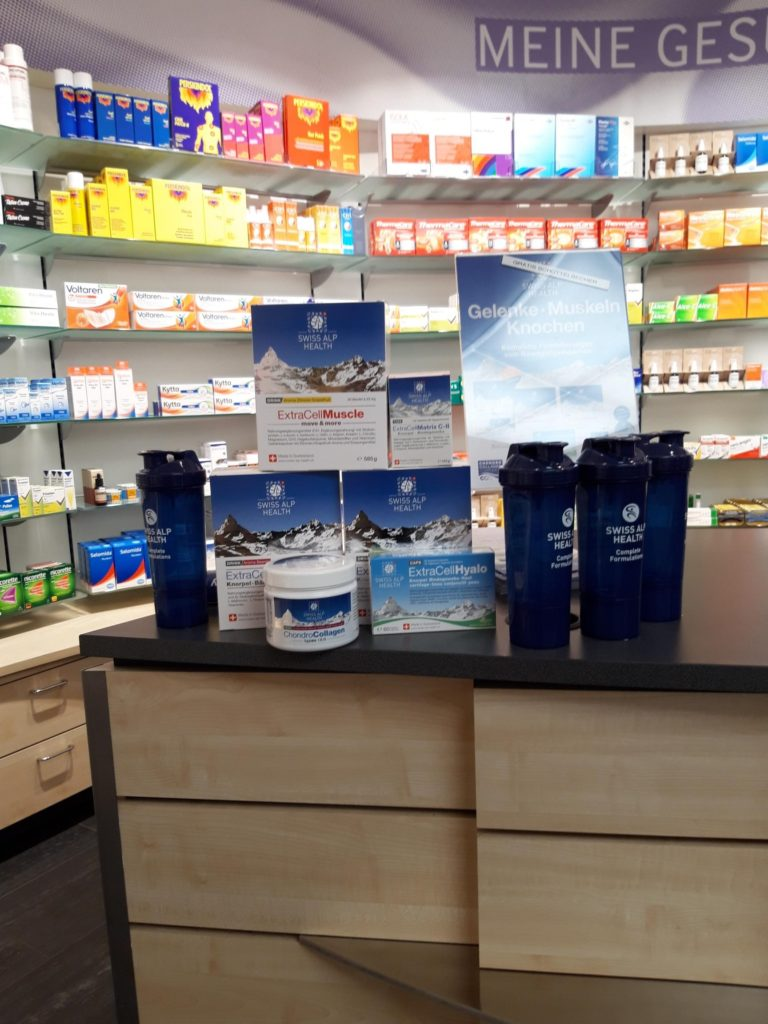 Drugstore Cham Dropa Cham Display 2019