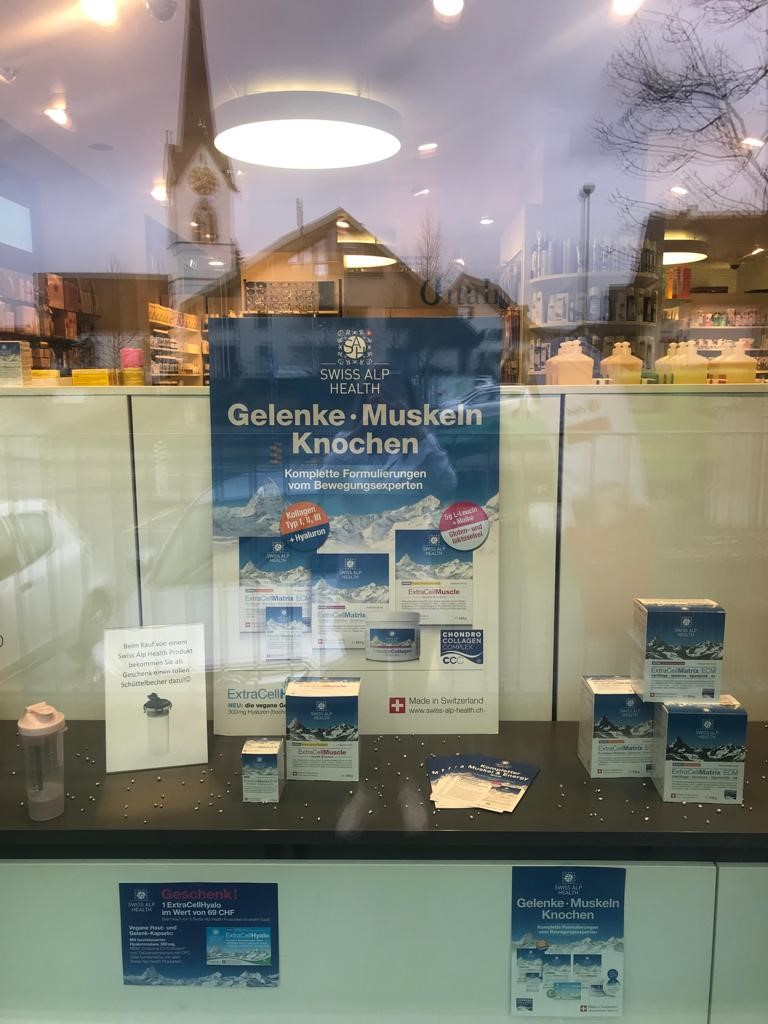 Drugstore Mettmenstetten Rotpunkt Vitalis Window 2020 03 09
