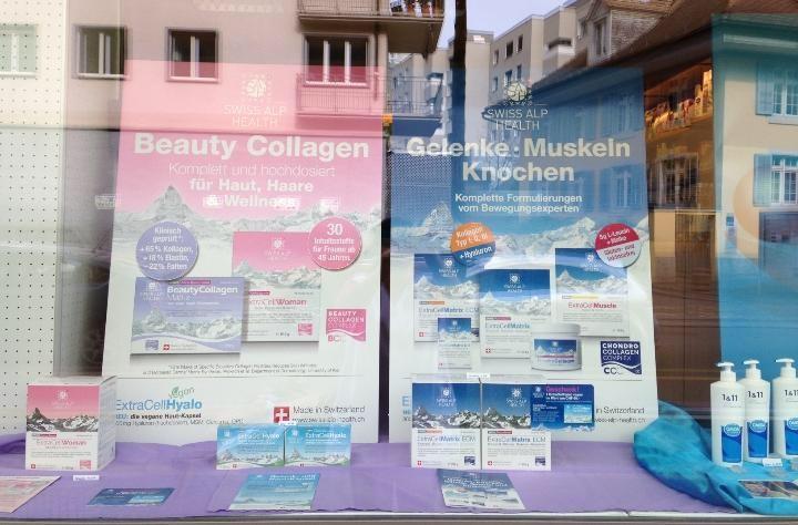 Drugstore Zürich Drogerie Wiedikon Window 2019 DvB
