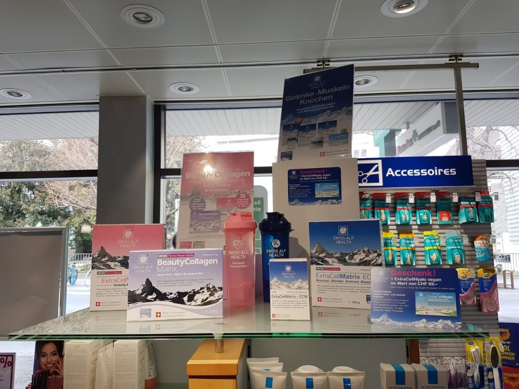 Pharmacy Chur Amavita Landi Display 2019 DvB