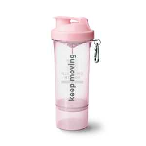 Swiss Alp Health light pink shaker